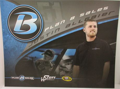 Justin Allgaier Plan B Sales #51 Hero Card