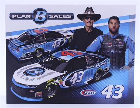 Bubba Wallace / Richard Petty Plan B Sales #43 Hero Card