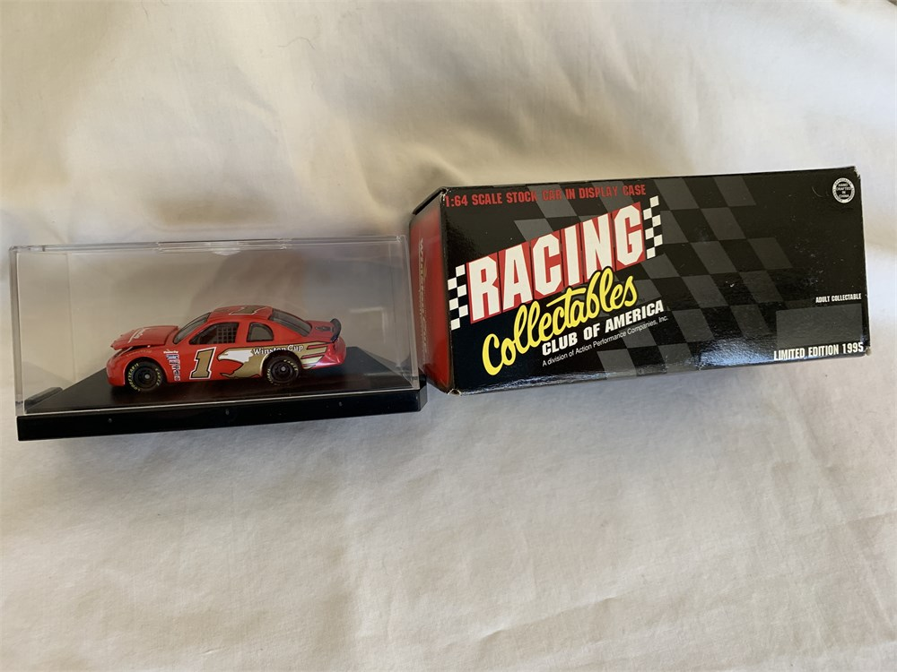 MotorSportsAuctions com - #1 Winston Cup Series 1/64 Car
