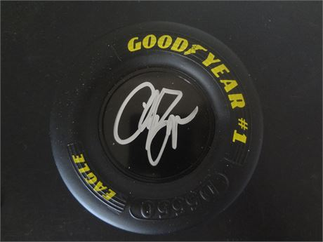 clint bowyer signed mini tire w/coa free shipping