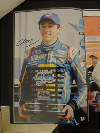 chase elliott   signed 11x17 glossy photo #2
