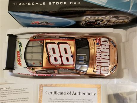 2008 DALE EARNHARDT JR #88 NATIONAL GUARD COOPER 1/24 DIECAST NEW IN BOX