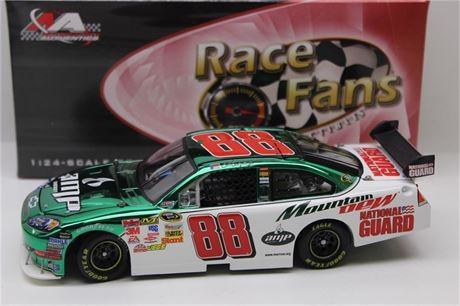 2009 DALE EARNHARDT JR AMP ENERGY NATIONAL GUARD COLOR CHROME 1/24 DIECAST NEW I