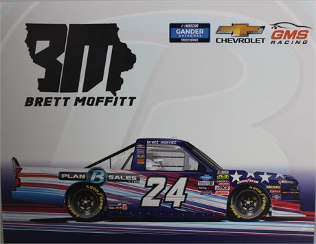 Brett Moffitt #24 Plan B Sales Truck Hero Card