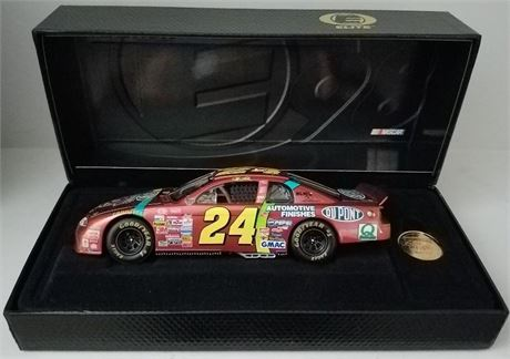1998 JEFF GORDON CHROMALUSION MONTE CARLO ELITE 1 OF 7500 MADE NASCAR 50TH