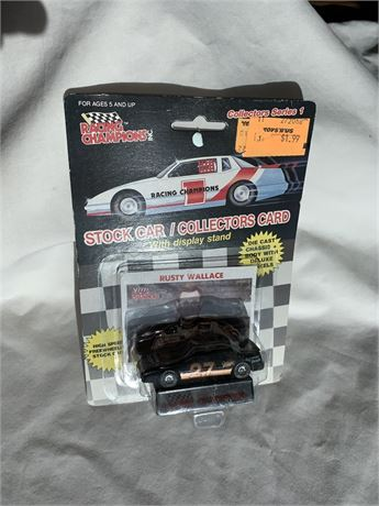 Rusty Wallace #27 Miller Genuine Draft 1/64 Car- 1989
