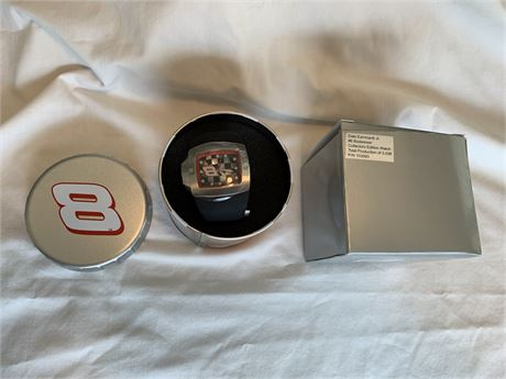 Earnhardt Jr #8 Budweiser Collectors Edition WATCH- New