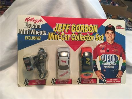 Jeff Gordon 1/64 Mini-Car Collector Set