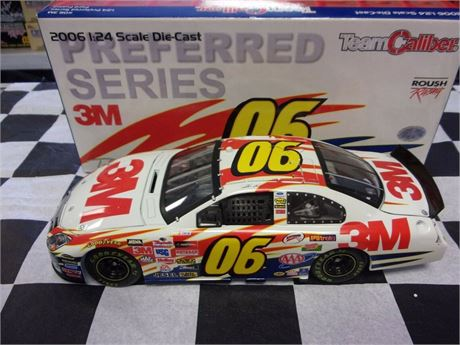 2006 TODD KLUEVER #06 3M 1/24 DIECAST TEAM CALIBER IN BOX FREE SHIP