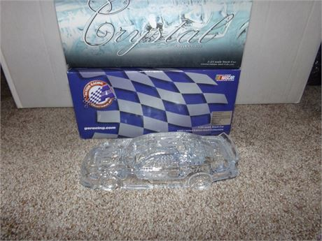 1999 DALE EARNHARDT #8 BUDWEISER CRYSTAL CAR 1/24 IN BOX BY ACTION