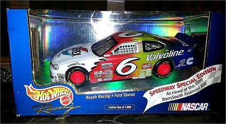 1999 MARK MARTIN #6 ZEREX HOT WHEELS SPEEDWAY SPECIAL EDITION 1/24 NEW FREE SHIP