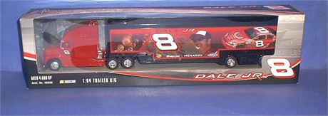 2006 DALE EARNHARDT JR #8 HAULER TRAILER RIG 1/64 NEW IN BOX FREE SHIP