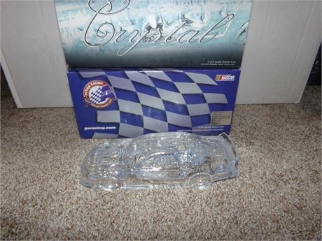 1999 DALE EARNHARDT JR #8 BUDWEISER CRYSTAL CAR 1/24 IN BOX BY ACTION