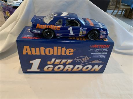 Jeff Gordon #1 Autolite 1989 Thunderbird Action Diecast- New